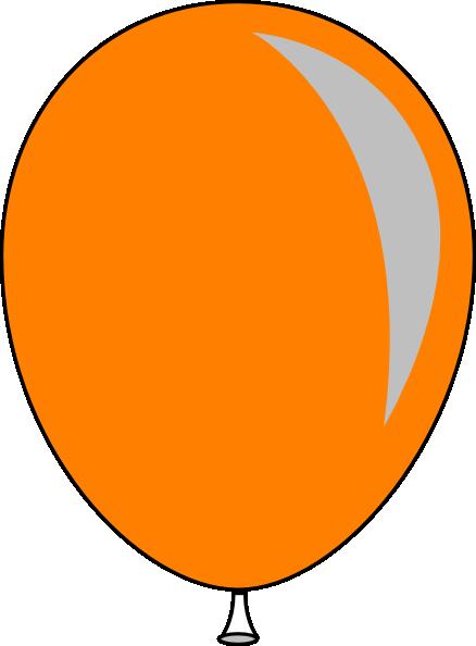438x594 Balloon Clipart Orange