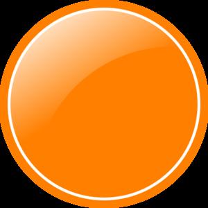 300x300 Orange Circle Clip Art