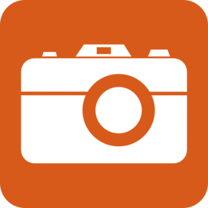 300x300 Orange Clipart Camera