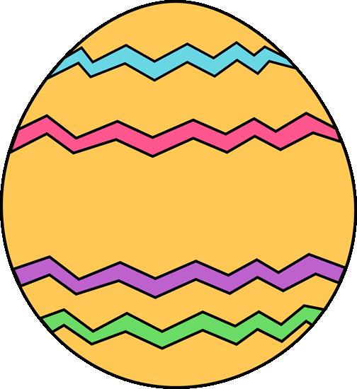 504x550 Orange Clipart Easter Eggs