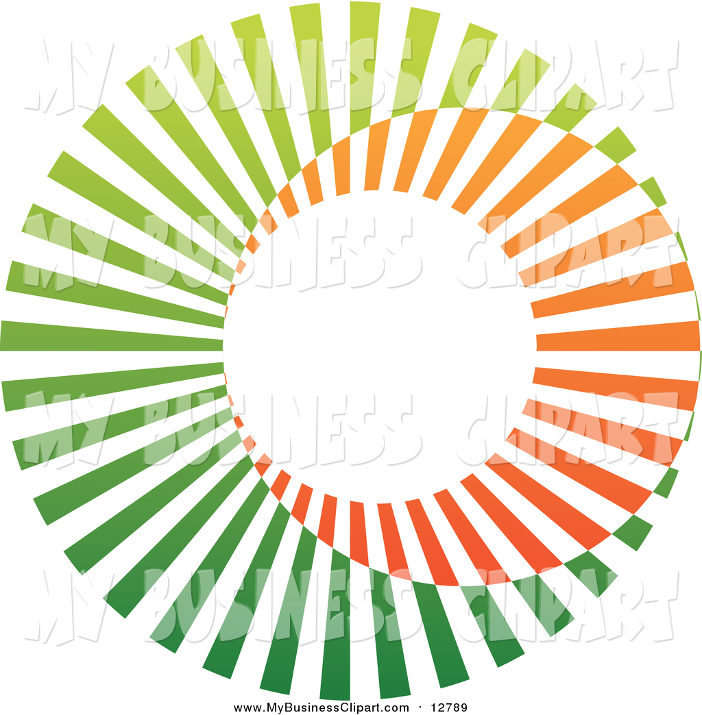 1024x1044 Vector Clip Art Of A Circle Logo Of Orange And Green By Cidepix
