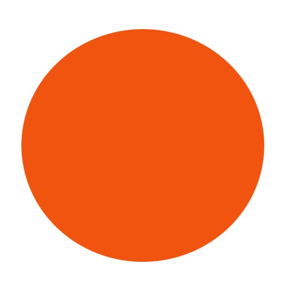 600x597 Circle Clipart Orange Circle