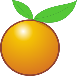 300x297 Giant Orange Clip Art
