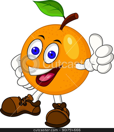 400x464 Orange (Fruit) Clipart Cartoon