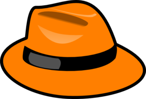 299x204 Orange Hat Clip Art