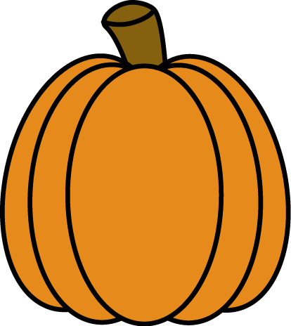 414x464 Autumn Pumpkin Clip Art
