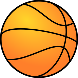 300x300 Basketball Clip Art