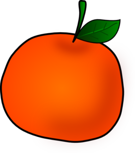 264x299 Photo Collection Clip Art Of Orange