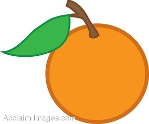 300x249 orange clip art id 31423 Clipart PIctures