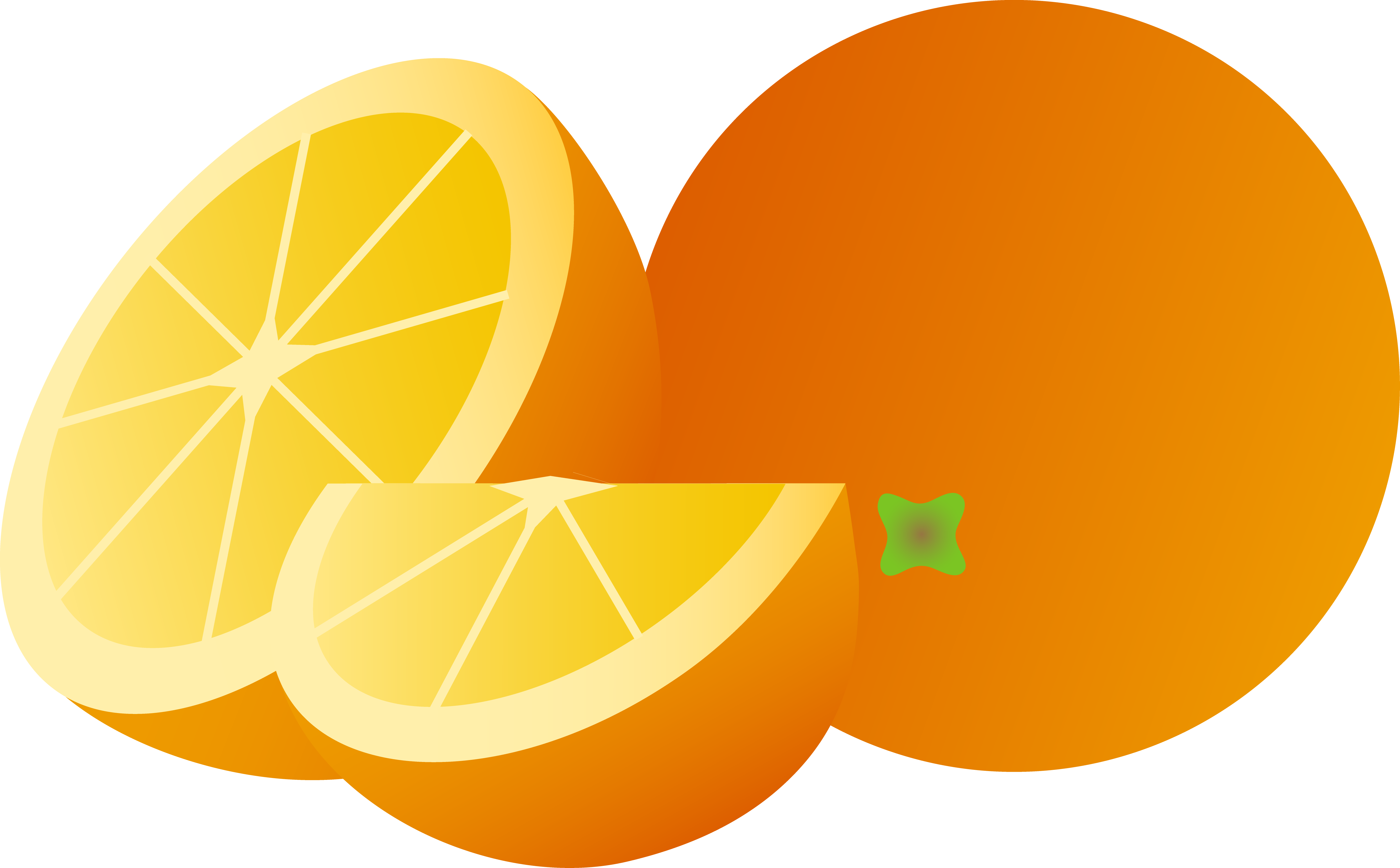 5865x3635 Best Orange Clip Art