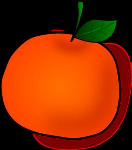 264x299 Orange Clip Art