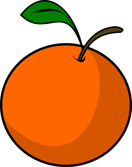 442x557 Orange Clip Art Free Clipart Images