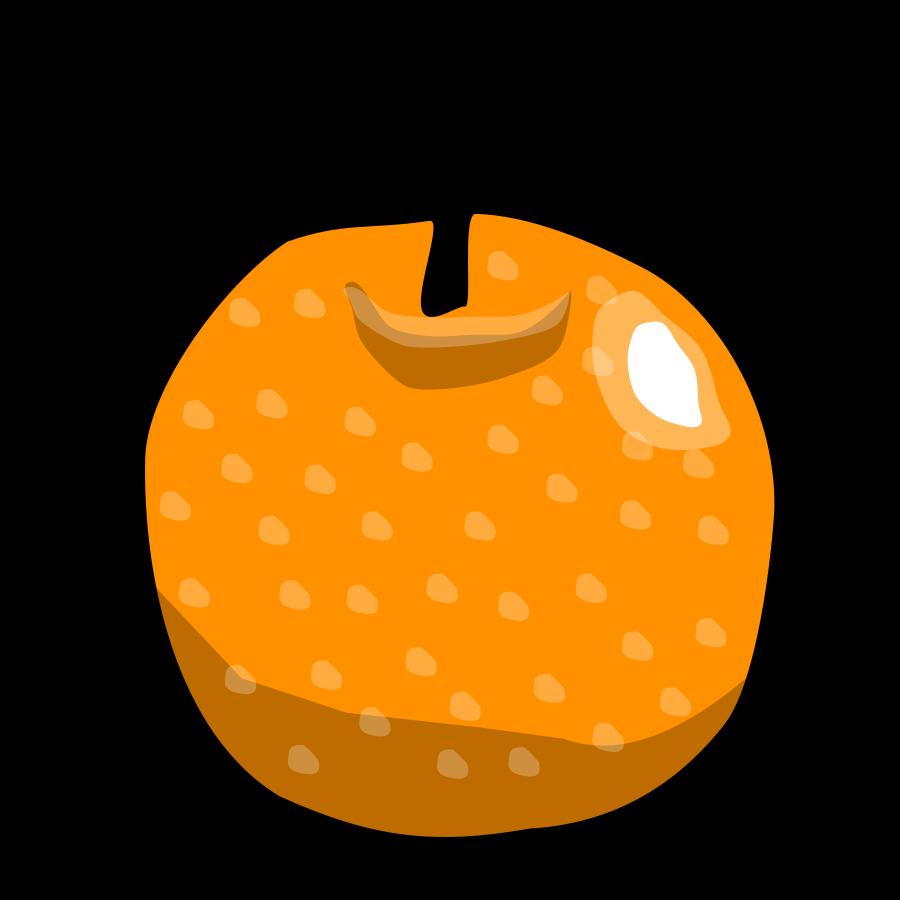 900x900 Clip Art Orange