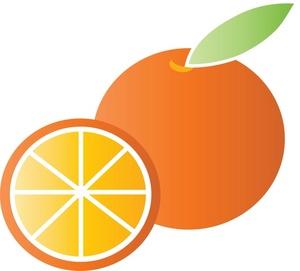 300x271 Fruit Clipart Image Orange Image 3