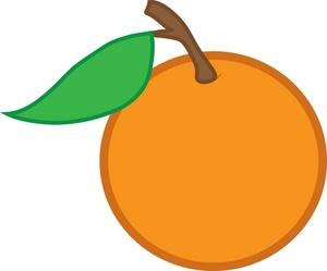 300x249 Orange Clipart Image