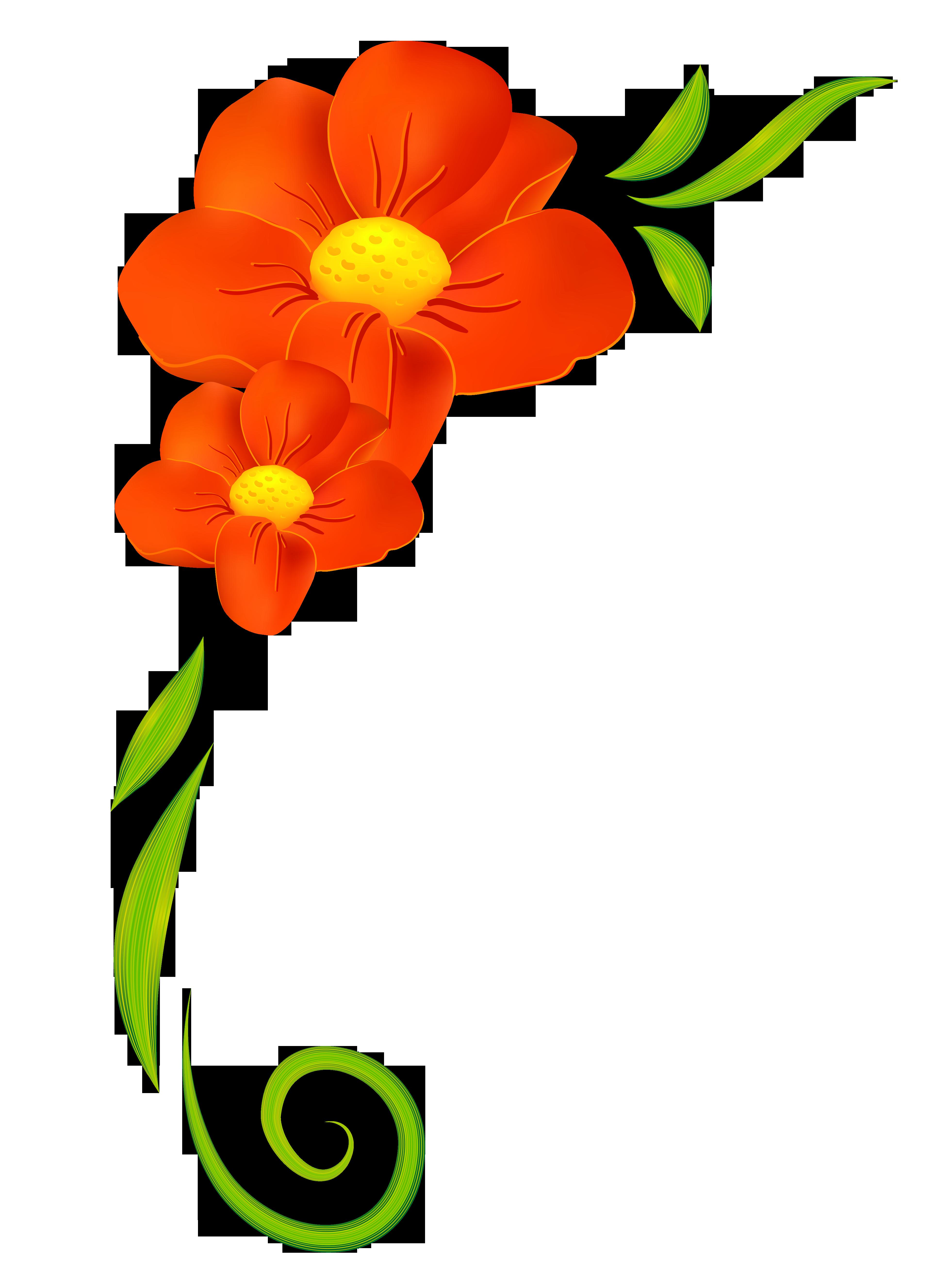 3924x5263 Orange Flower Decor Png Clipartu200b Gallery Yopriceville