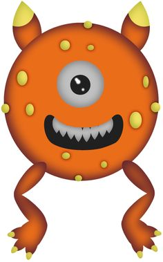 236x379 Orange Monster Cliparts Many Interesting Cliparts