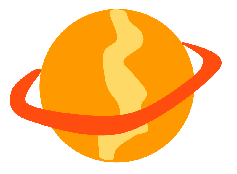 800x589 Orange Planet Clipart Cliparts And Others Art Inspiration