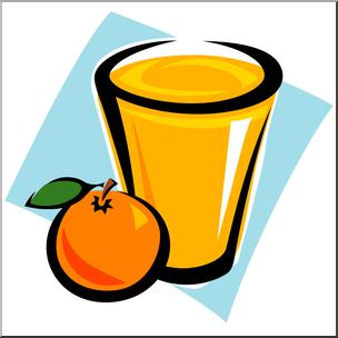 304x304 Clip Art Orange Juice 2 Color I Abcteach