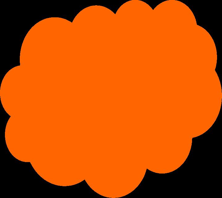718x639 Color Clipart Orange Color