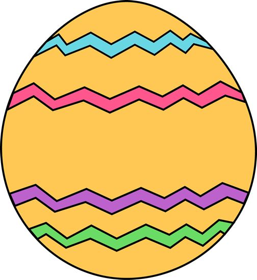504x550 Easter Egg Border Clipart To Color