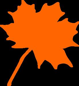 276x299 Foliage Clipart Orange Leaf