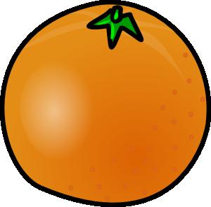 300x295 Orange Clip Art
