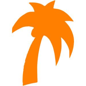 300x300 Orange Clipart Palm Tree