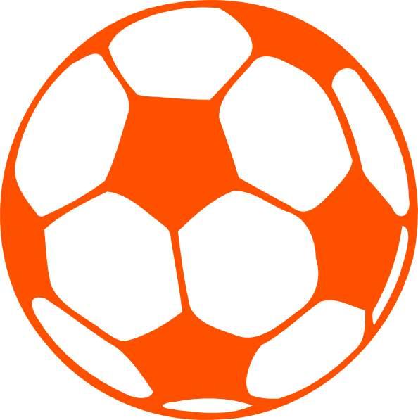 594x597 Orange Clipart Soccer Ball