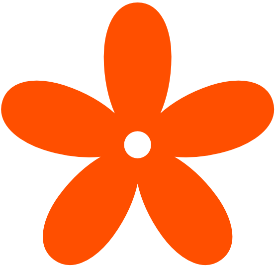 555x550 Peace Clipart Orange