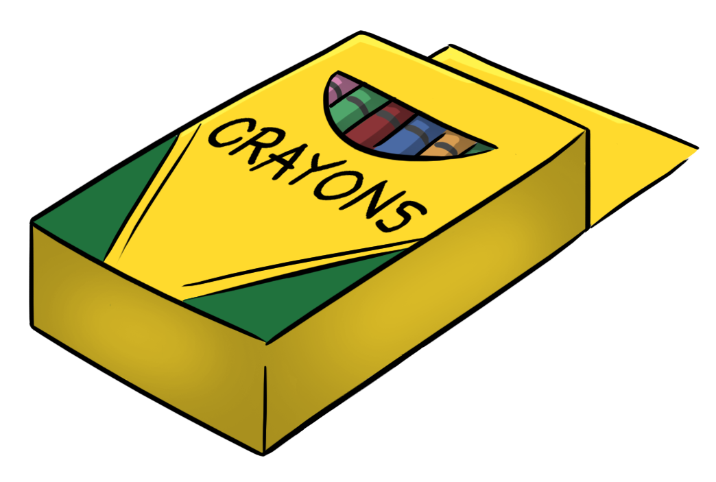1044x703 In Box Crayon Clipart, Explore Pictures