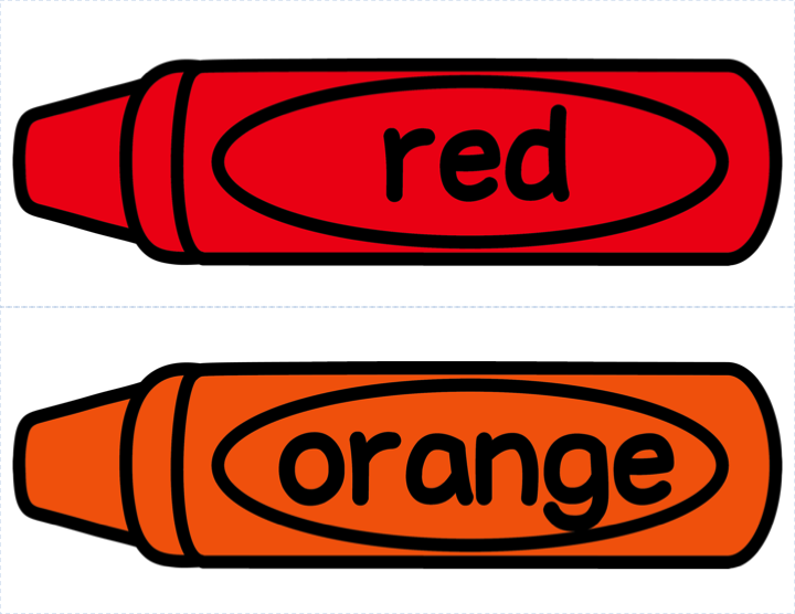 720x556 Red Orange Crayon Clipart