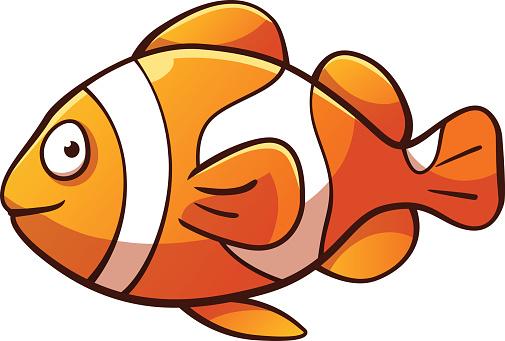 505x341 Clown fish clipart