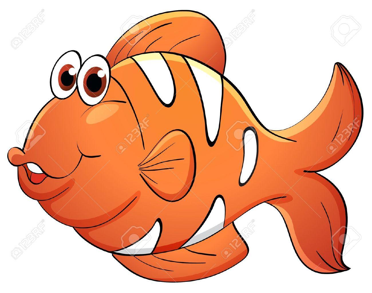 Orange Fish Clipart | Free download best Orange Fish Clipart on ... for Cooked Fish Clipart  55jwn