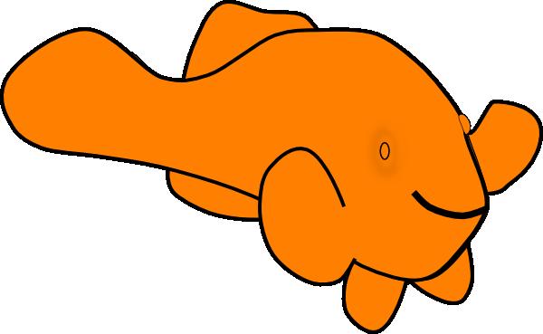 600x369 Orange Fish Clip Art