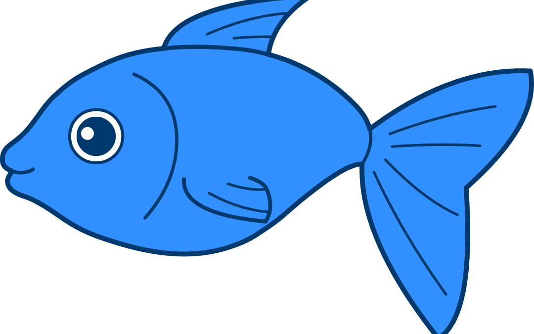 1080x675 Red Fish Blue Fish Clip Art (44+)