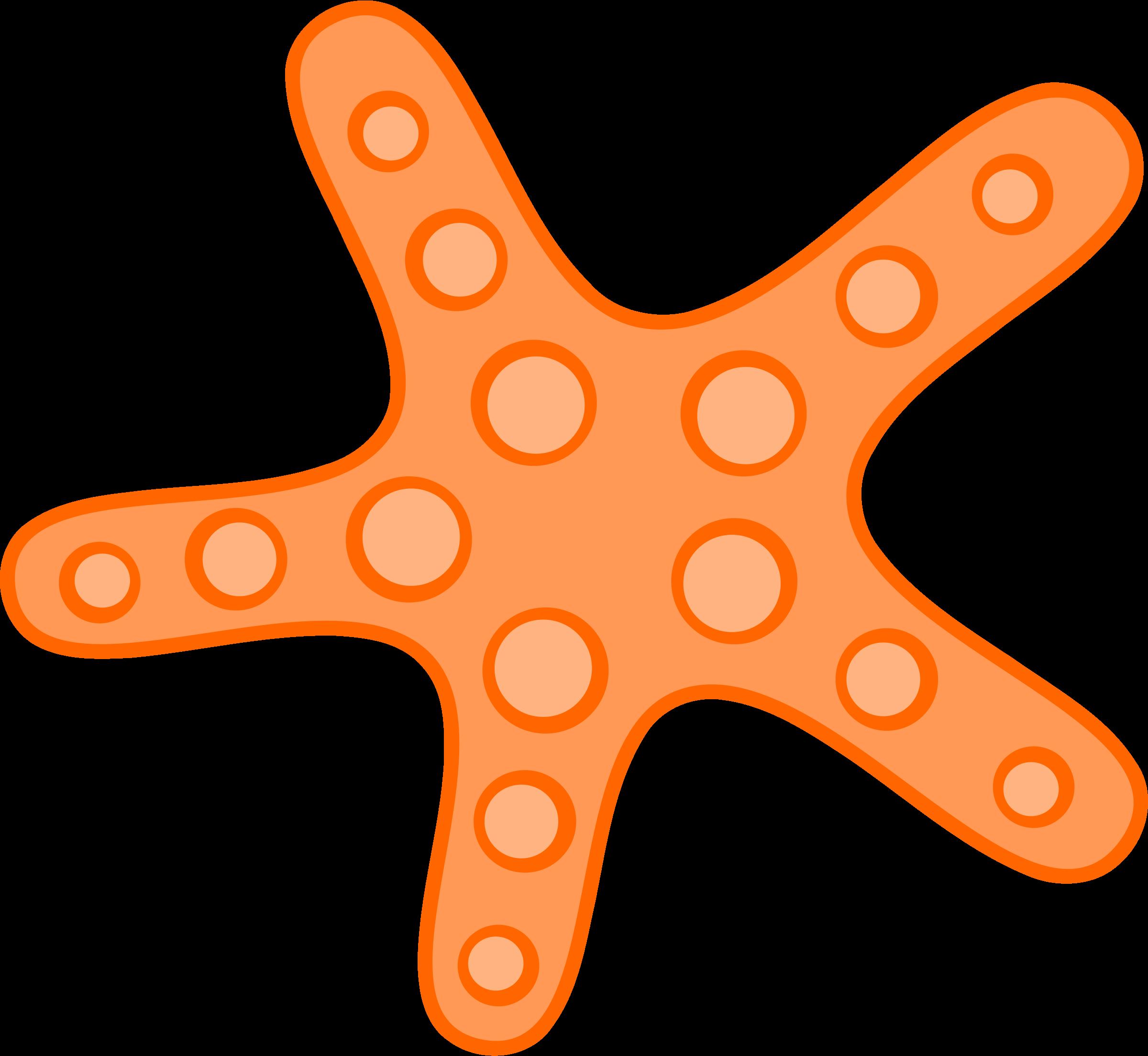 2400x2208 Star Fish Clip Art
