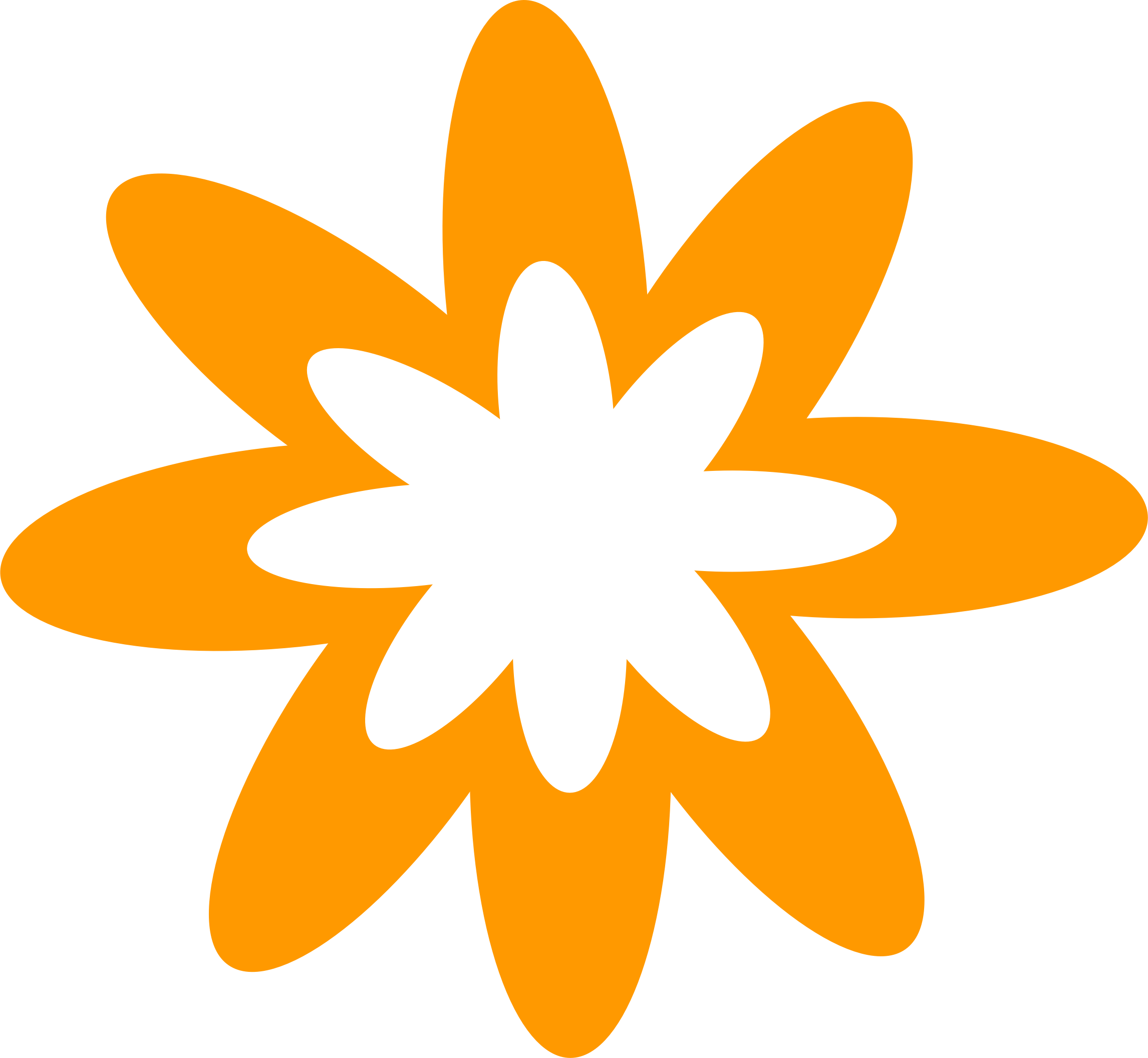 2292x2112 Orange Flower Clipart Tiny Flower