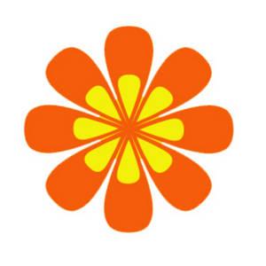 Orange flower clipart free download best orange flower clipart on 300x300 clipart picture of an orange and yellow flower mightylinksfo
