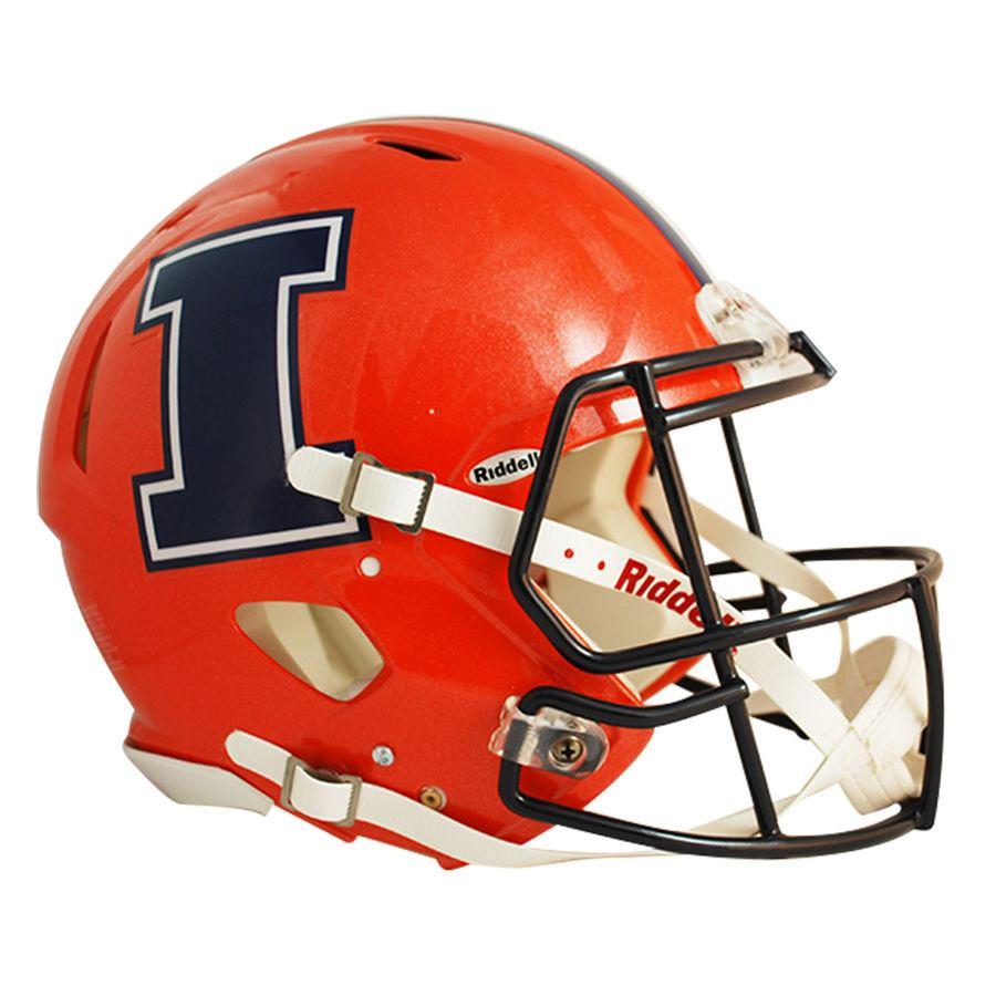 900x900 Illinois Fighting Illini Orange Navy I Riddell Speedy Cheetah