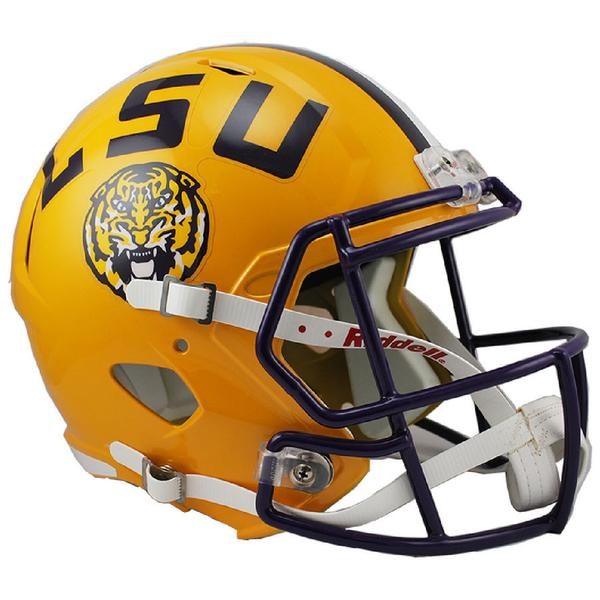 600x600 Lsu Tigers Riddell Speed Full Size Replica Foot Speedy Cheetah