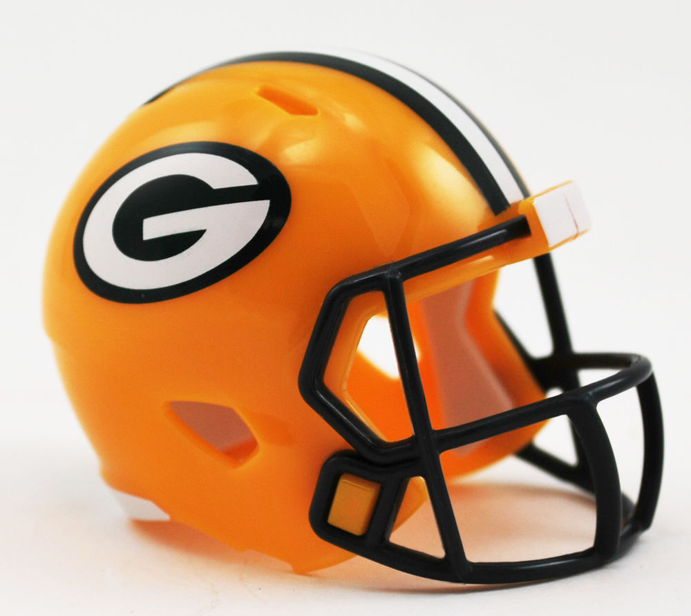 1000x891 New Green Bay Packers Nfl Riddell Speed Pocket Pro Mini