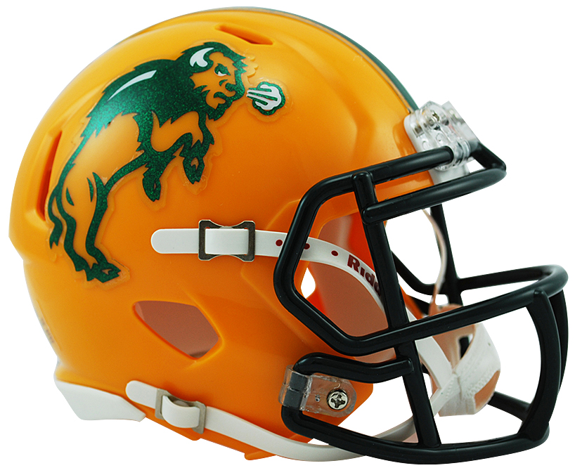 818x666 North Dakota State Bison Riddell Speed Mini Collectible Football