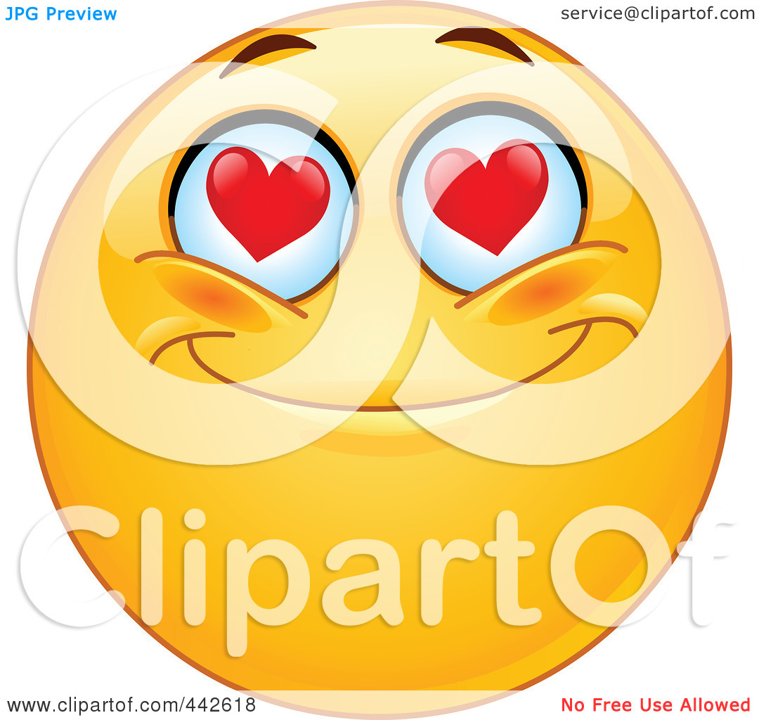 1080x1024 Eyes With Hearts Clipart