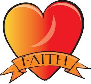 300x277 Faith Heart Clipart Image