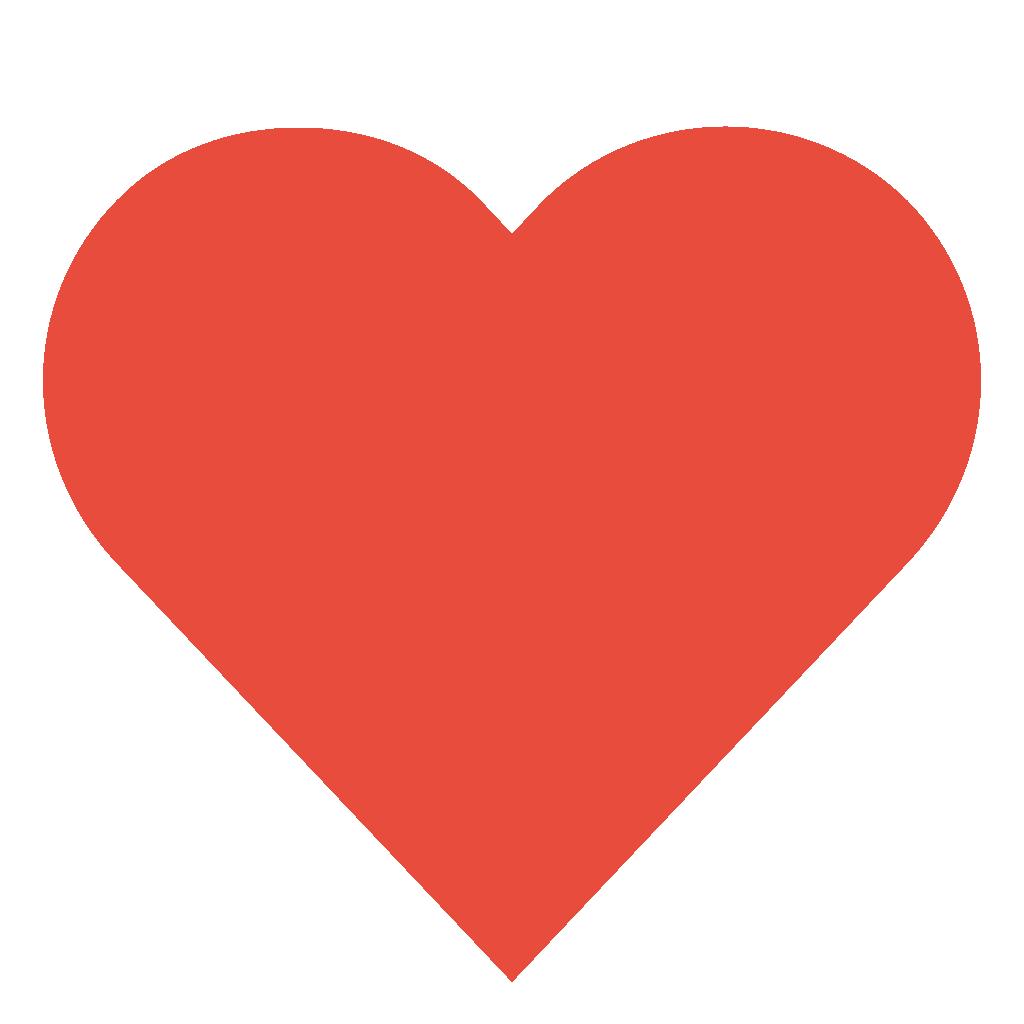 1024x1024 Free Love Heart Clipart