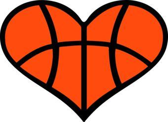 Orange heart clipart free download best orange heart clipart on 340x247 basketball heart clipart kid voltagebd Gallery