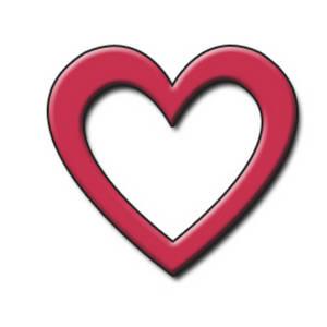 300x300 Heart Shapes Clipart