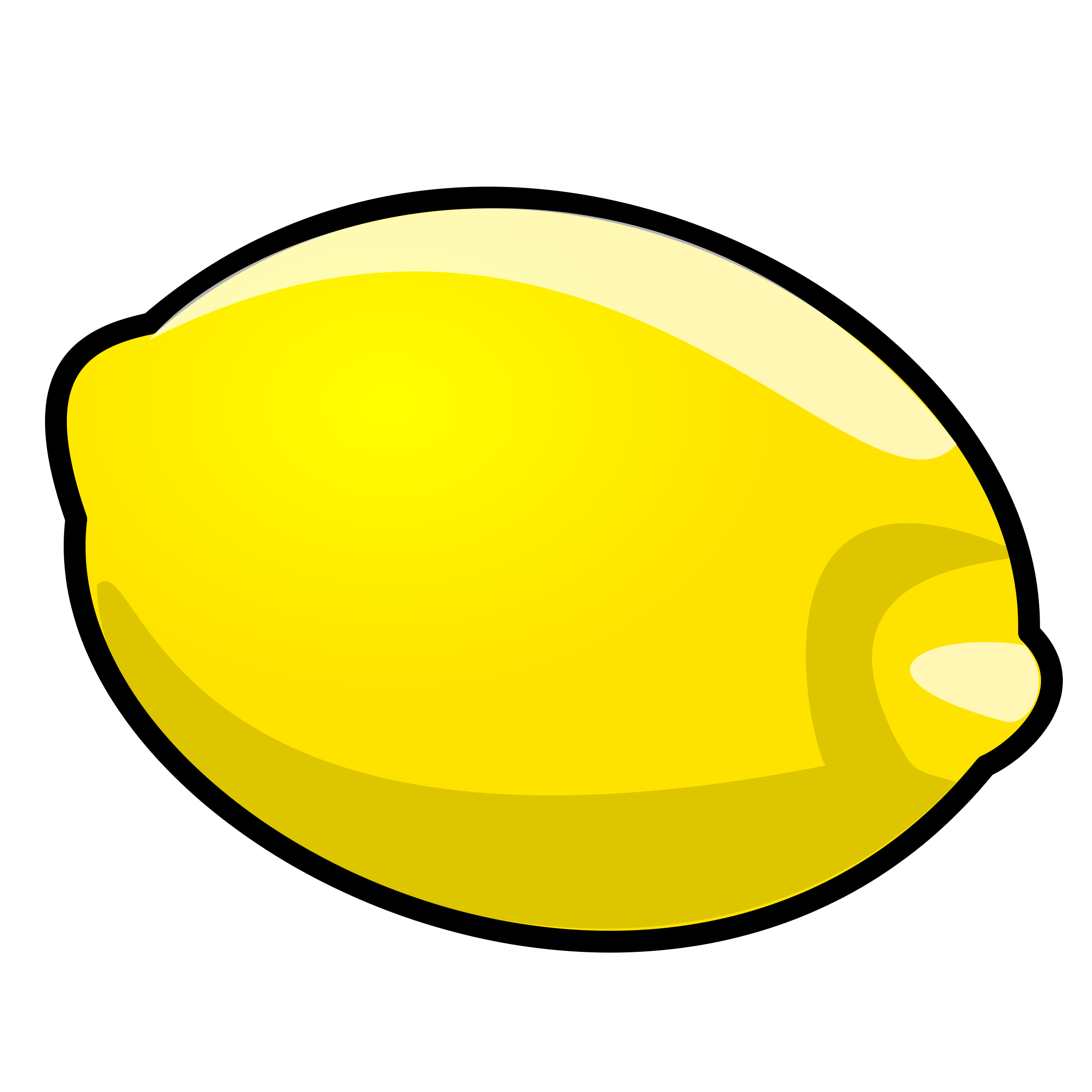 2400x2400 Lemon Slice Clipart