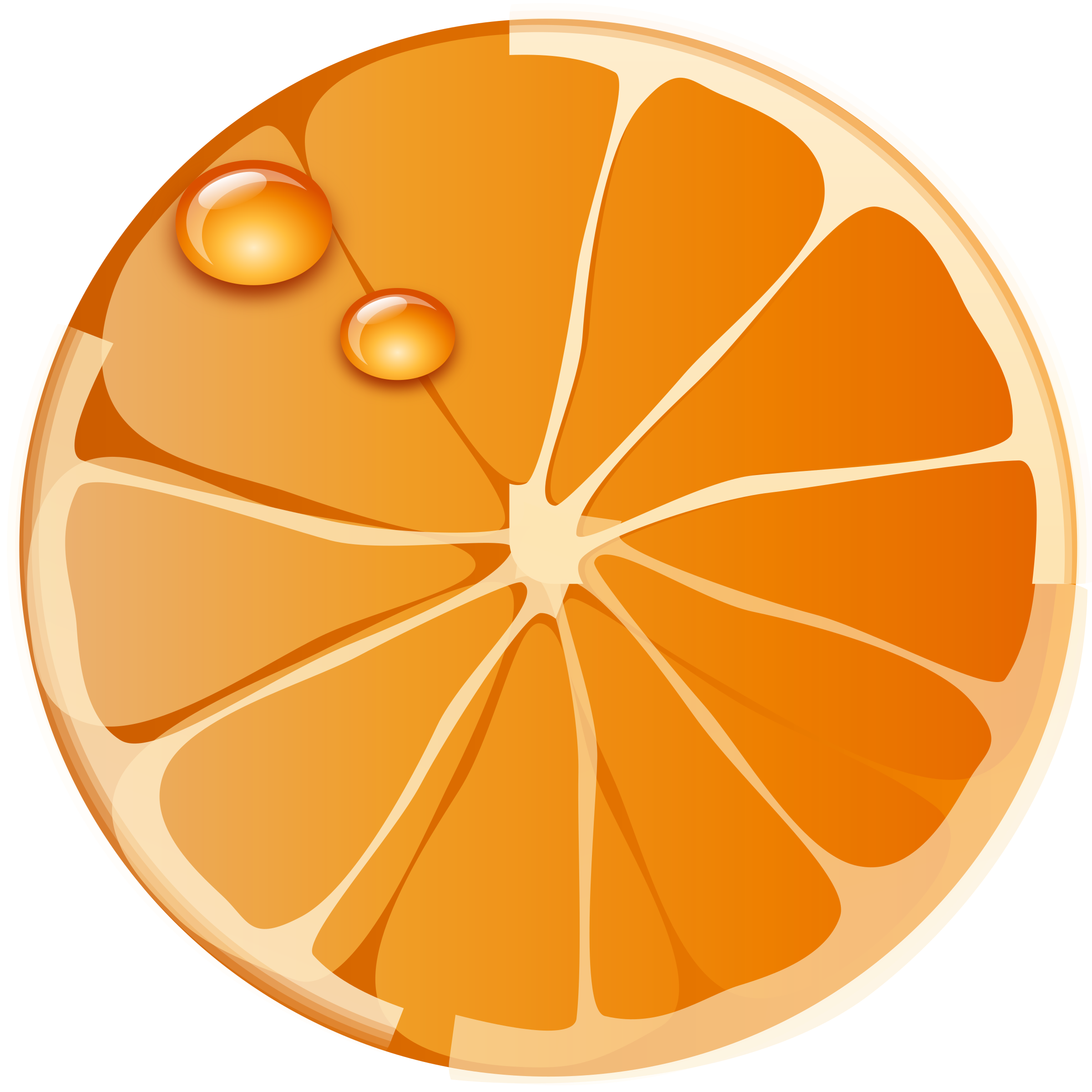2400x2400 Orange (Fruit) Clipart Big Orange